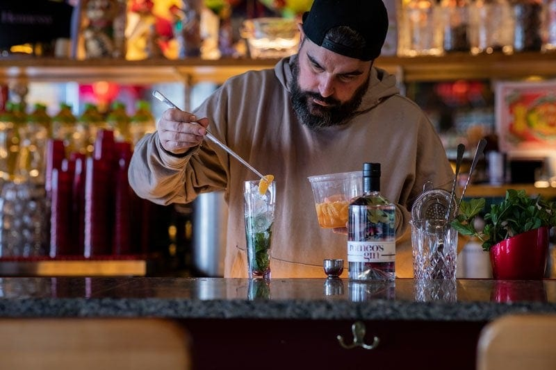 Discover Vincent's cocktail at Duvernois Creative Spirits, made with romeo's gin