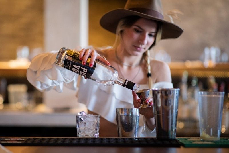 Discover Stephane's cocktail at Duvernois Creative Spirits, made with Pur Vodka