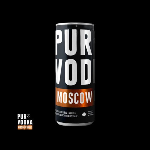 Pur Vodka Moscow Mule is an ultra premium ready-to-drink cocktail, made in Canada by Duvernois Creative Spirits