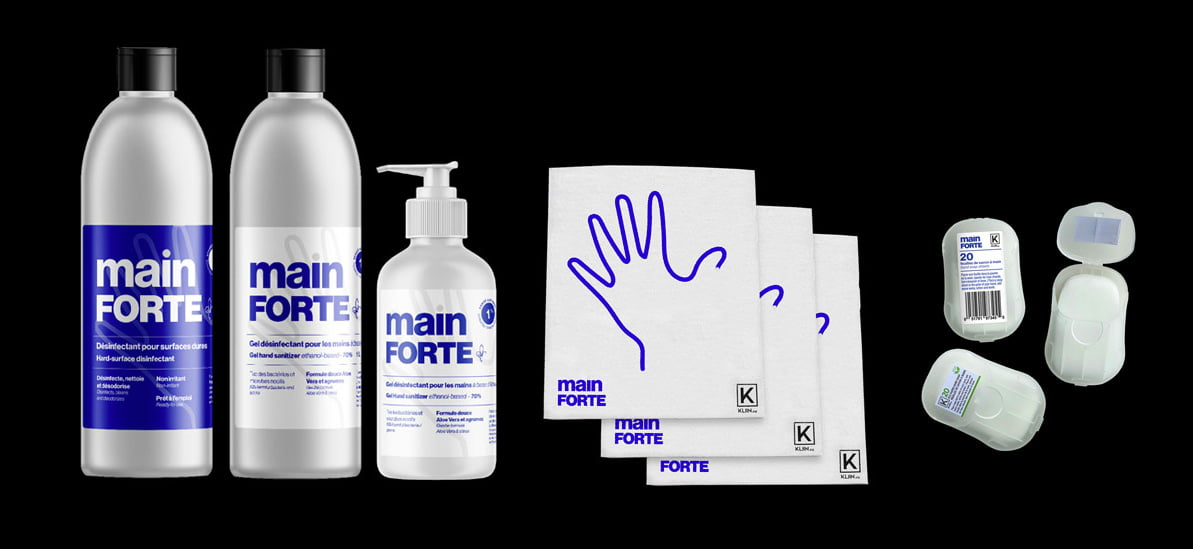 Mainforte : a hand sanitizer project - by Duvernois Creative Spirits